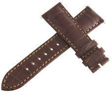 Authentic Corum 21 x 18mm Brown Alligator Leather Watch Band Strap New H1150