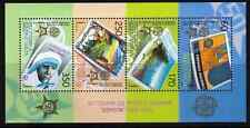2006 Macedonia 50 Years Europa CEPT high value s/s MNH