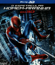 The Amazing Spider-man Blu-ray 3D [ English + Spanish + Portuguese ] Region ALL
