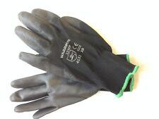 100 paires noir nitrile enduits gants ** General but ** mécanique ** taille 10