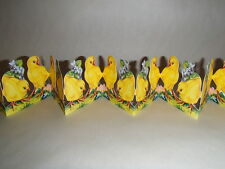Scandinavian Swedish Cut Out Fold Out Table decorations Easter Chicks BK41