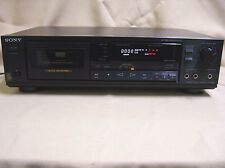 Sony TC-RX420 STEREO auto rev CASSETTE Tape player DECK AS IS Needs Belts