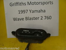 96 97 YAMAHA WAVE BLASTER 2 760 WB2 II GP RAIDER? FUEL GAUGE DASH WARNING LIGHTS