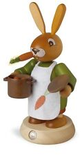 Mueller Traditional German Smoker Rauchermann Easter Bunny Rabbit Cook Chef