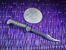 """Wasteland Blade #1"" 1:6 Scale Knife Custom Steel Miniature By Auret"