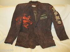 Wilson's Leather BROWN Suede M. Julian  JACKET SIZE LARGE  *EUC*
