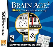 Brain Age 2: More Training in Minutes a Day DS - Game Card Only - LN
