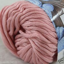 Sale New 1 Skein x 50g Soft 100% Cotton Chunky Super Bulky Hand Knitting Yarn 30