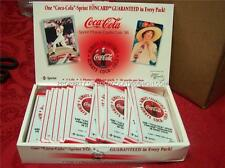 NEW WAX BOX COCA COLA SPRINT COKE PHONE FON CARD CEL