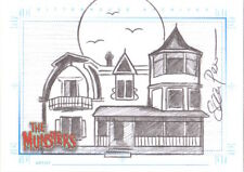 2005 The Munsters - SKETCH CARD The Munsters House by Sean Pence