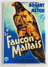 The Maltese Falcon (France) FRIDGE MAGNET (2.5 x 3.5 inches) movie poster