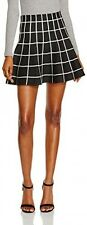 New Look Women's Grid Chandy Regular Skirts, Black Pattern Ladies size 8
