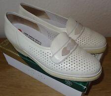 creme weiß Gesundheitsschuhe 6 H Halb-Schuhe Goldkrone 39-40 Slipper Sneaker