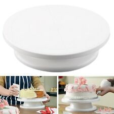 11'' 28cm Cake Making Turntable Rotating Decorating Platform Stand Display CC