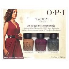 OPI Mini Washington DC Collection Fall 2016 Nail Lacquer Set Of 3