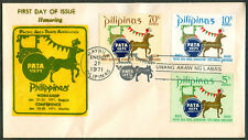 1971 Philippines Honoring PACIFIC AREA TRAVEL ASSOCIATION First Day Cover - B
