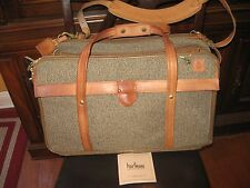 """Hartmann 3-Compartment Tweed & Belting 21"""" Carry-On Bag 747 Over Suit-O-Matic"""