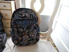 Vera Bradley backpack in retired Windsor Navy pattern  EUC