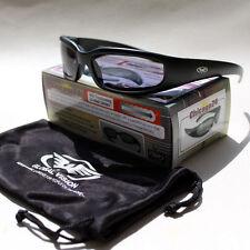Biker Sport Brille Selbstabdunkelnde Sonnenbrille Splitterfrei Photochromic NEU