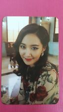SNSD YURI Official Photo Card 5th YOU THINK Girl's Generation Photocard