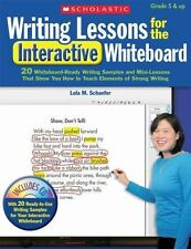 Writing Lessons for the Interactive Whiteboard : 20 Whiteboard-Ready Writing Sa…