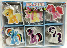 1box 30pcs cartoon my little pony Children Stationery learning eraser kids gift