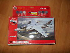 Airfix 1/72 - BAe Harrier GR9A - incl Paints, Brushes, Cements