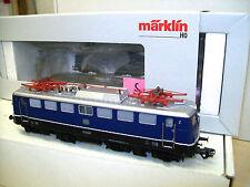 MÄRKLIN H0 37107 - Elektrolok BR E 10.1 DB blau, MfX digital/SOUND, AC, TOP OVP