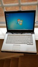 "Toshiba Satellite A210 Laptop Notebook 15.4"" 3GB 160GB AMD turione Windows 7"