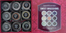 Bare Escentuals Sweet Obsessions 9 pc Eyecolors Kit Retail Value Over $80!
