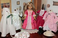RETIRED American Girl Doll Elizabeth and Gorgeous Period Wardrobe! Lovely Doll!