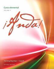 ¡Anda! - Curso Elemental Vol. 2 by Audrey L. Heining-Boynton and Glynis S....
