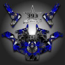 POLARIS RZR 800 UTV Graphics Decal Wrap 2007 - 2010 UNLEASHED BLUE