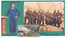 JVC CACHETS - 2014 CIVIL WAR ISSUE PETERSBURG MOBILE FIRST DAY COVER TOPICAL #3
