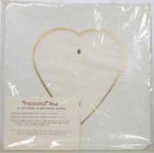 12 ~ Photo~Curio Mats ~ General Products ~ To Fit 1-8X10 ~ Heart~ Sealed Plastic