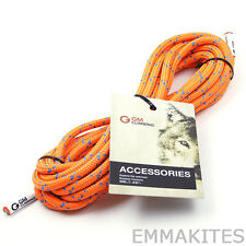 20ft Bulk 20kN 8mm Double Braid Accessory Cord Rope for Prusik Climbing Arborist