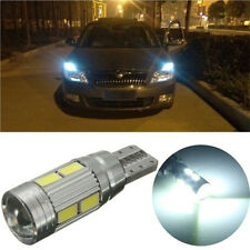 1x T10 White 194 W5W 5630 LED 10 SMD CANBUS ERROR FREE Car Side Wedge Light Bulb