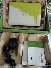 DELL Inspiron Mini Netbook Laptop Nickelodeon Slime Green/White Edition Windows