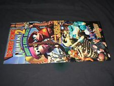 Nintendo SNES Donkey Kong Country 2 poster! *excellent*