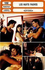 Movie Card. Fiche Cinéma. Les nuits fauves (France/Italie) Cyril Collard 1992