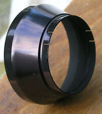 34mm push fit slip on step  Lens hood shade slight wide angle