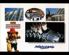 """DOLANCOURT (10) TRAIN de MANEGE animé au PARC D'ATTRACTION """"NIGLOLAND"""""""