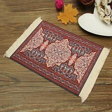 28x18cm  2mm Thick Persian Style Mini Xmas Rug Mouse Pad Carpet Mousemat Gifts