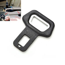 Universal Auto Car Safety Seat Belt Buckle Alarm Stopper Clip Clamp Black JIP