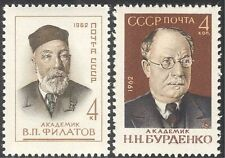 Russia 1962 Filatov/Burdenko/Medical/Health/Scientists/People 2v set (n43141)