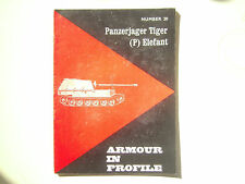 Armour in Profile WWII German Panzerjager Tiger ( P ) Elefant  Part # 20