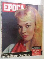 EPOCA 1 dicembre 1957 Agnes Laurent Eva Bartok Mafia Ottavio Bugatti Presley di