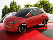 """OPEL """"ADAM"""" RC CAR BODY SCALE 1:10 UNPAINTED WITH DECALS & WINDOW MASKS"""