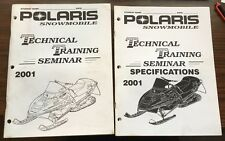 2001 Polaris Snowmobile Technical Training Seminar And Specifications (2)