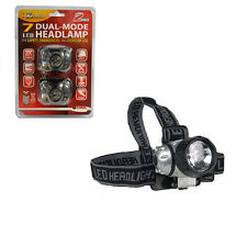 i-Zoom 7 LED 2 Pack Adjustable Dual-Mode Head-Lamp for Safety, Emergencies